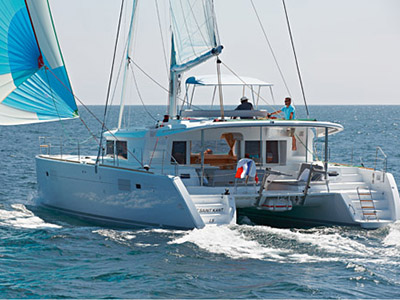 Catamaran for Sale Lagoon 450 F  in Belleville France SEA RUNNER IV  New Sail