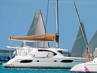 Catamaran for Sale Leopard 44  in Grenada WRECKLESS FAITH  Preowned Sail