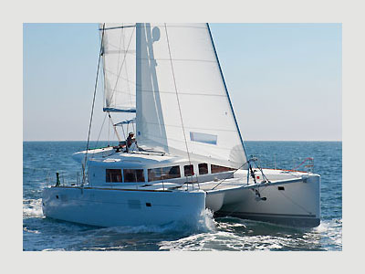 SOLD Lagoon 450 F  in Tortola British Virgin Islands PEACE OUT Thumbnail for Listing New Sail
