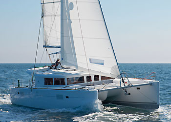 SOLD Lagoon 450 F  in Tortola British Virgin Islands PEACE OUT  New Sail