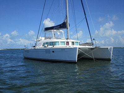 Coming Soon Lagoon 440  in Key Largo Florida (FL)  ALYMAYA Thumbnail for Listing Preowned Sail