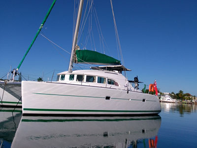 Catamaran for Sale Lagoon 380  in St. Augustine Florida (FL)  38 SOUTH  Preowned Sail