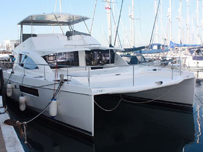 Preowned Sail Catamarans for Sale 2013 Leopard 51PC