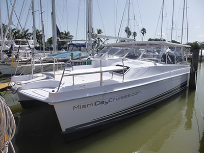 Used Power Catamarans for Sale 2018 Freestyle 399 Power