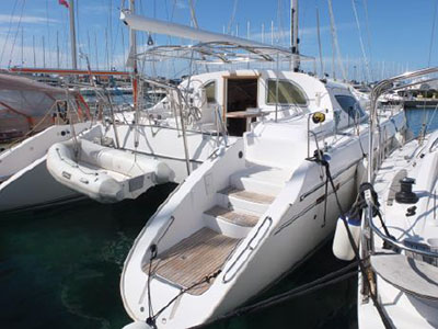 Used Sail Catamarans for Sale 1999 Privilege 465