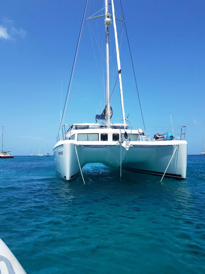 Used Sail Catamaran for Sale  Lagoon 420