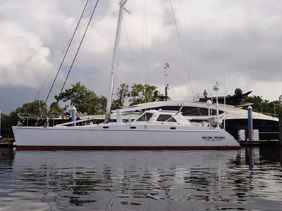 Used Sail Catamarans for Sale 2002 Atlantic 55