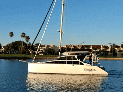 Used Sail Catamaran for Sale 2001 Lightwave 38