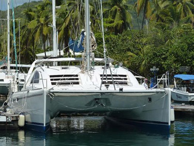 Catamarans LA BELLA VITA, Manufacturer: LEOPARD, Model Year: 2003, Length: 42ft, Model: Leopard 42, Condition: Preowned, Listing Status: Under Offer, Price: USD 185000