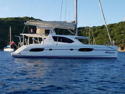 Catamarans MOJO, Manufacturer: ROBERTSON & CAINE, Model Year: 2013, Length: 42ft, Model: Leopard 44, Condition: Preowned, Listing Status: Catamaran for Sale, Price: USD 434000