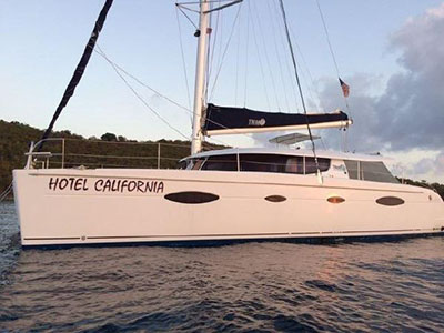 Catamarans HOTEL CALIFORNIA , Manufacturer: FOUNTAINE PAJOT , Model Year: 2007, Length: 48ft, Model: Salina 48, Condition: Preowned, Listing Status: Catamaran for Sale, Price: USD 369000