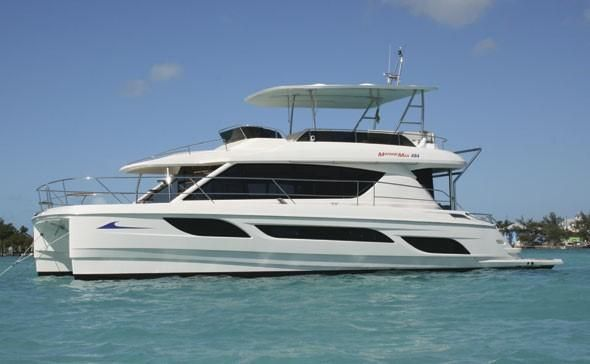 Three Aquila Power Catamarans For Sale Starting from $255,800 - 38 and 48 Feet.