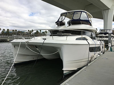 Used Power Catamarans for Sale 2015 Aquila 44
