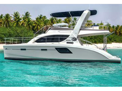 Catamaran for Sale Aquila 38  in Hodges Creek British Virgin Islands BLUE RUNNER Thumbnail for Listing Preowned Power