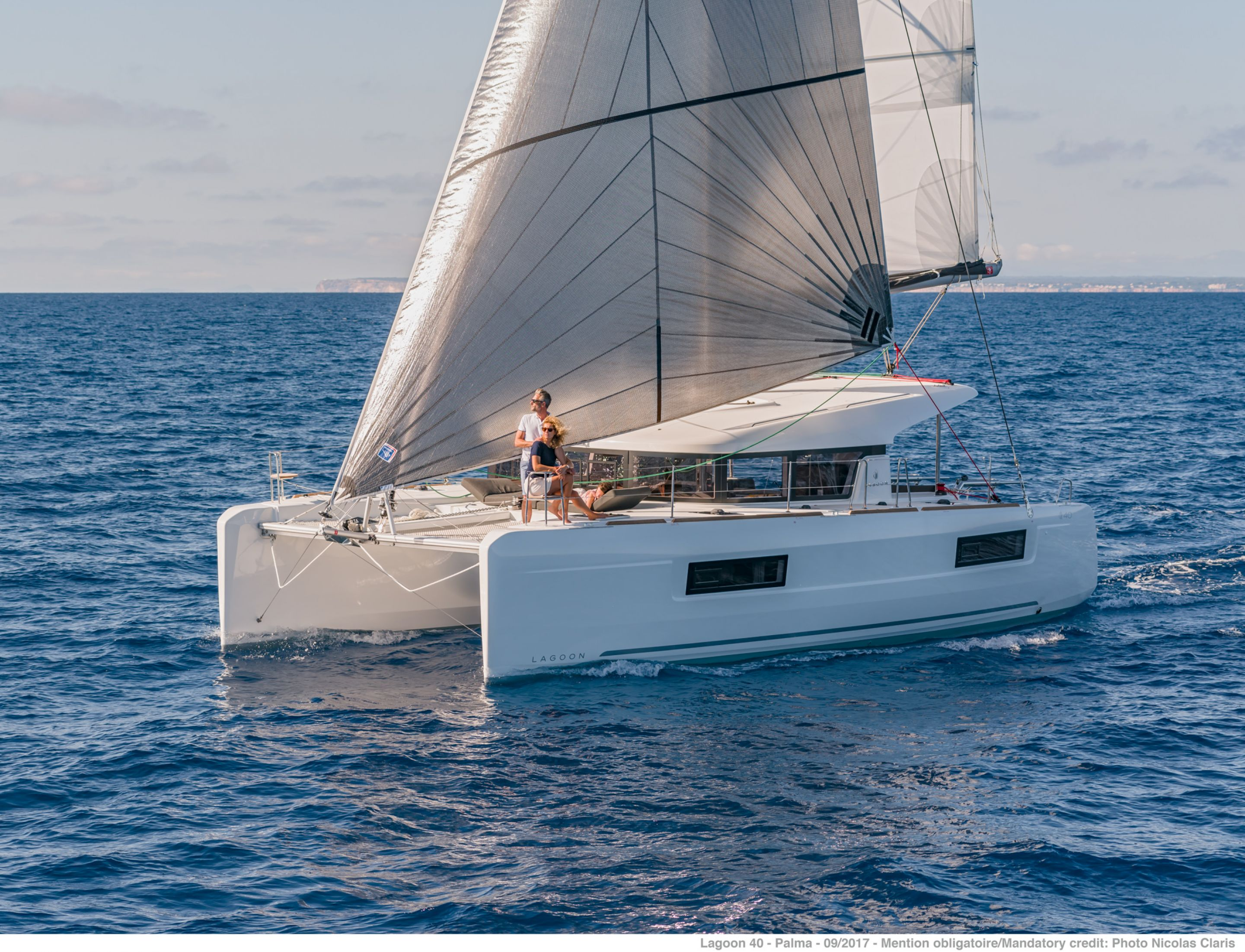 Catamaran for Sale Lagoon 40  in Bordeaux France BROCHURE-LAGOON 40  Brochure Sail