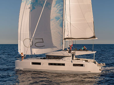 New Sail Catamarans for Sale  Lagoon 50
