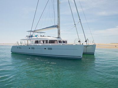 Catamaran for Sale Lagoon 620   in British Virgin Islands LE REVE  Preowned Sail