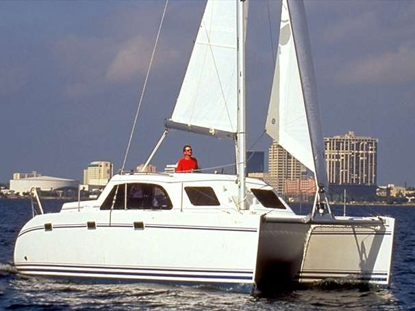 Preowned Sail Catamarans for Sale 2006 Lagoon 35CCC