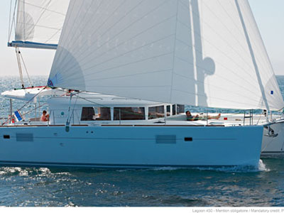 Under Contract Lagoon 450  in Fort Lauderdale Florida (FL)  DAWN TREADER Thumbnail for Listing Preowned Sail