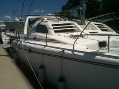 Used Sail Catamaran for Sale 2000 Leopard 38