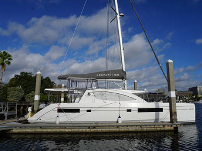 Used Sail Catamaran for Sale 2017 Leopard 38