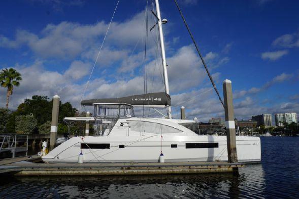 Used Sail Catamaran for Sale 2017 Leopard 48