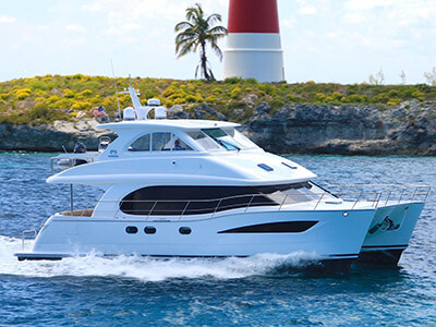 Used Power Catamarans for Sale 2015 Horizon PC52
