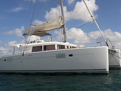 Used Sail Catamaran for Sale 2014 Lagoon 450 F