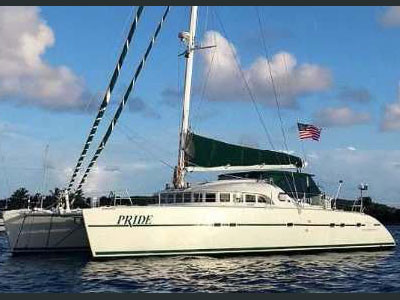 Used Power Catamaran for Sale 2001 Lagoon 570