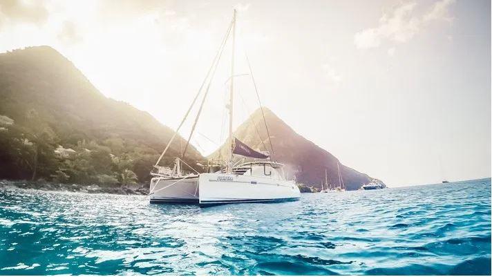 Used Sail Catamaran for Sale 2005 Leopard 40