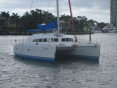 Used Sail Catamarans for Sale 2002 Lagoon 410