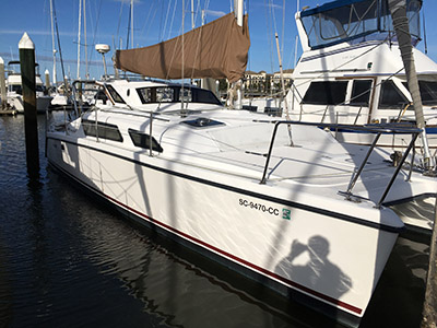 Used Sail Catamaran for Sale 1996 Gemini 105M