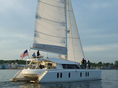 Used Sail Catamarans for Sale 2012 Isara 50