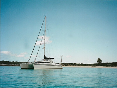 Used Sail Catamaran for Sale 1995 Simpson 13.7M
