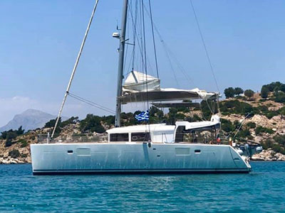 Used Sail Catamaran for Sale 2015 Lagoon 450