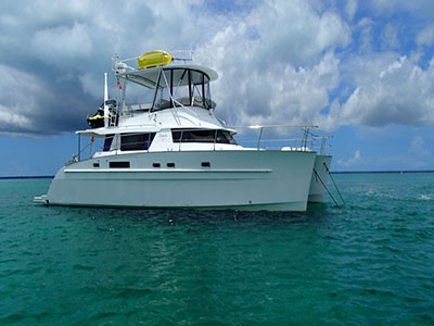 Used Power Catamaran for Sale 2008 Cumberland 46