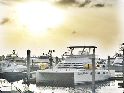 Used Power Catamarans for Sale 2009 Leopard 47 PC