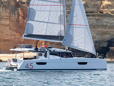 New Sail Catamaran for Sale 2021 Elba 45