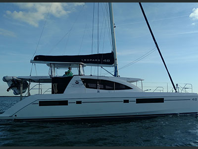 Used Sail Catamarans for Sale 2015 Leopard 48