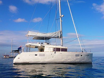 Used Sail Catamarans for Sale 2011 Lagoon 450