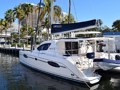 Used Sail Catamarans for Sale 2011 Leopard 39