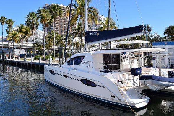 Used Sail Catamaran for Sale 2011 Leopard 39