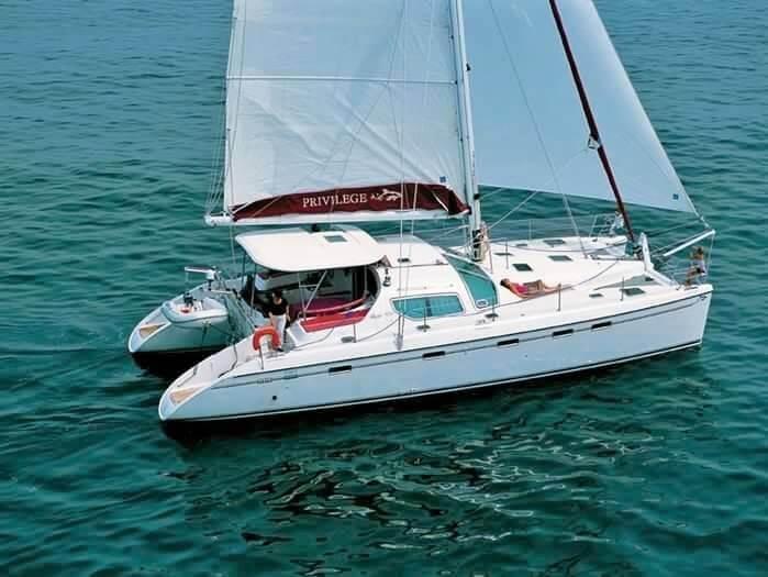 Used Sail Catamaran for Sale 2008 Privilege 445