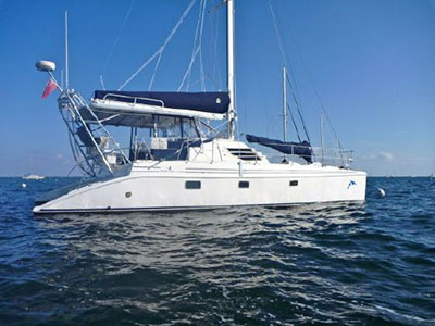 Used Sail Catamarans for Sale 2006 Manta 42 MK II