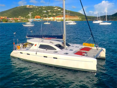 Used Sail Catamaran for Sale 2009 Nautitech 47