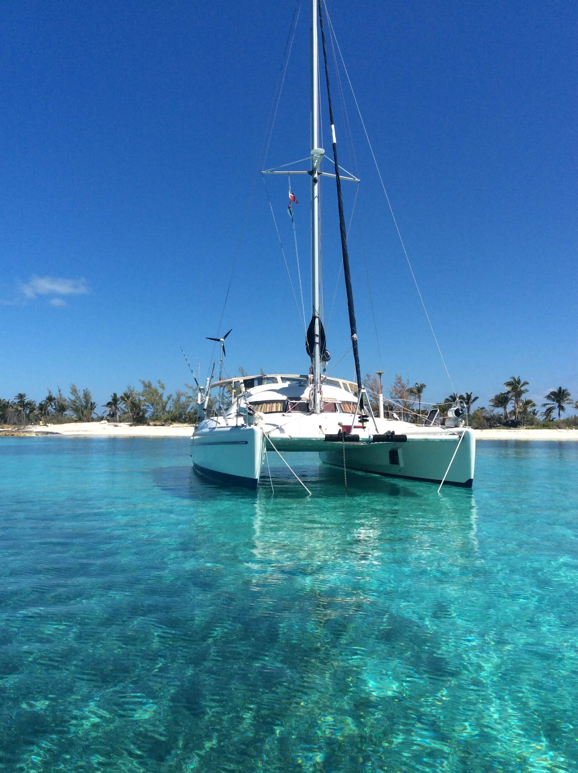 Used Sail Catamaran for Sale 1992 Fountaine Pajot 37