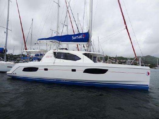 Used Sail Catamaran for Sale 2014 Leopard 44