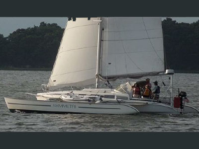 Used Sail Catamarans for Sale 1994 1000 Swing Wing
