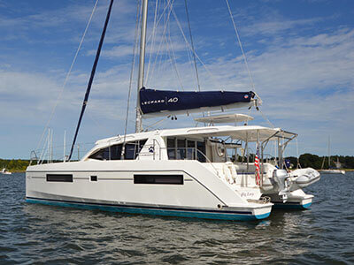 Used Sail Catamaran for Sale 2015 Leopard 40