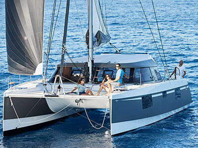 Used Sail Catamaran for Sale 2018 Nautitech 40 Open